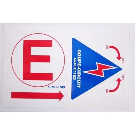 PEGATINA PARA DESCONECTADOR S2/ST2/EF